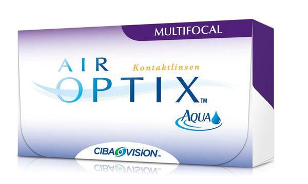 soczewki progresywne Air Optix