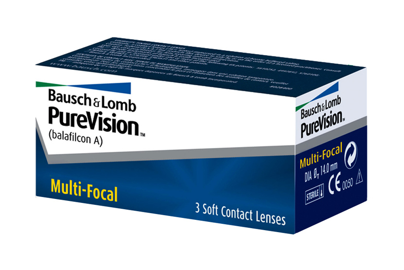 soczewki PureVision Multifocal
