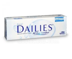 soczewki Dailies
